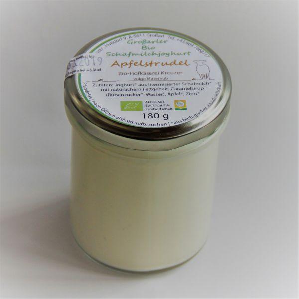 Bio Schafmilchjoghurt Apfelstrudel