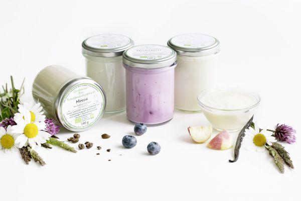 Bio Schafmilchjoghurt Nuss-Caramel