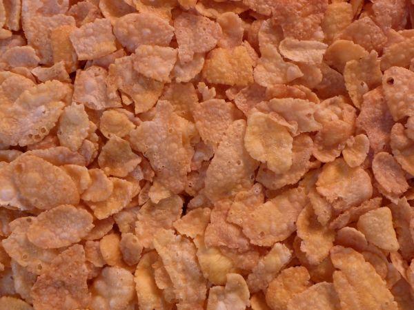 Cornflakes gezuckert