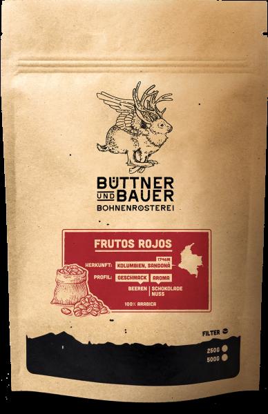 Filterkaffee Frutos Rojos