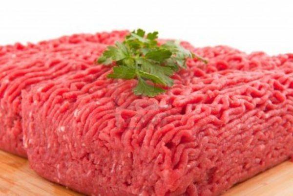 Hackfleisch Rind