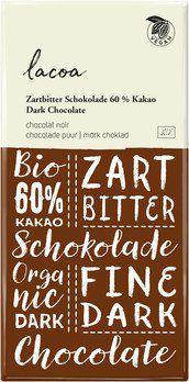 Zartbitter Schokolade lacoa