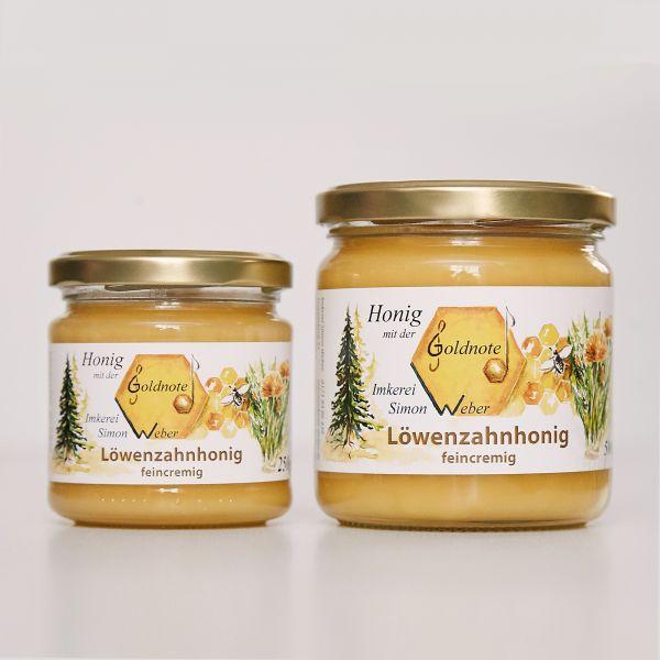 Bayerischer Löwenzahnhonig - Imkerei mit der Goldnote