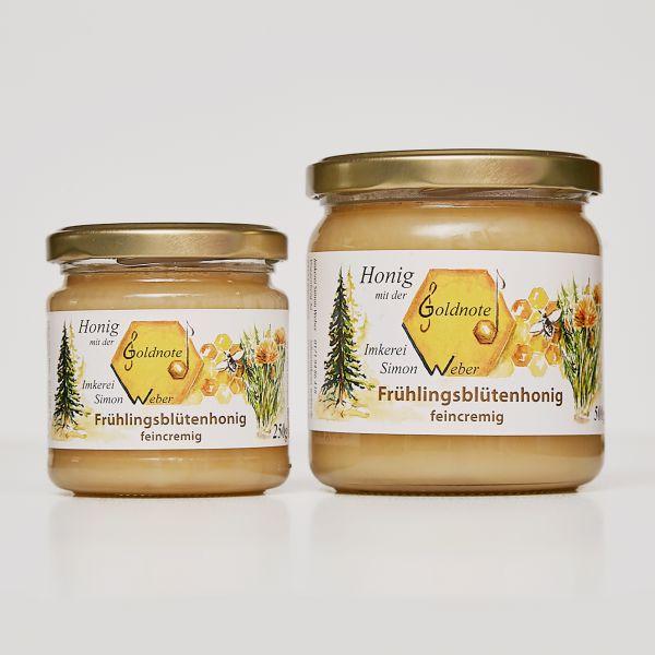 Bayerischer Frühlingsblütenhonig - Imkerei mit der Goldnote