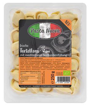 Tortelloni mit mediterraner Süßlupinenfüllung