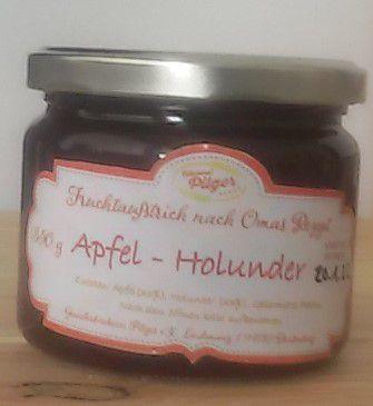 Fruchtaufstrich Apfel - Holunder
