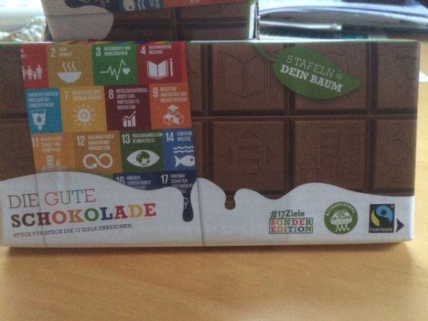 die gute Schokolade 17 Ziele Sonderedition