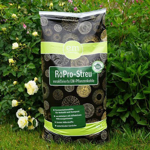 RoPro-Streu (voraktivierte EM-Pflanzenkohle)