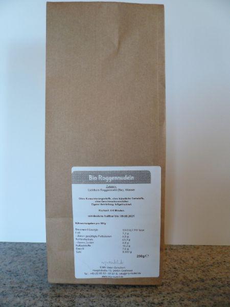 Roggennudeln; Lasagneplatten