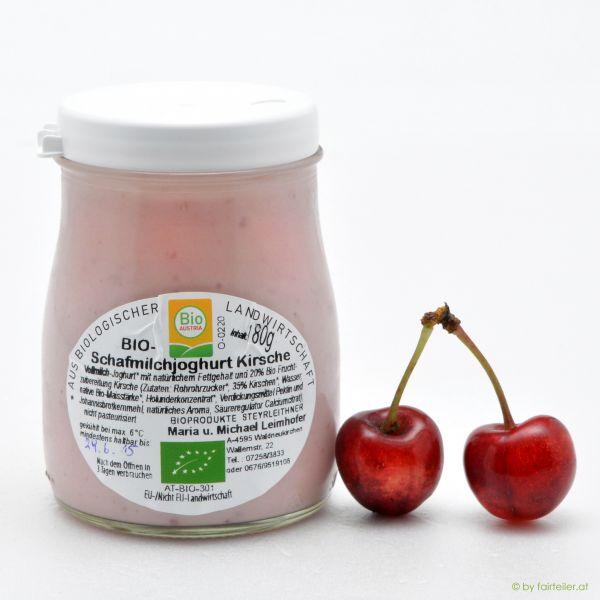 Schafmilchjoghurt Kirsche