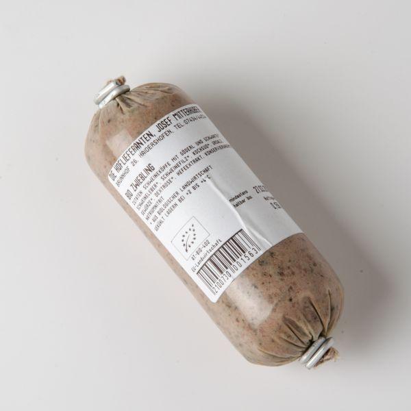 Zwiebelstreichwurst