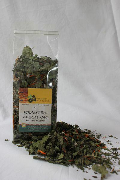 Tee 5-Kräutermischung
