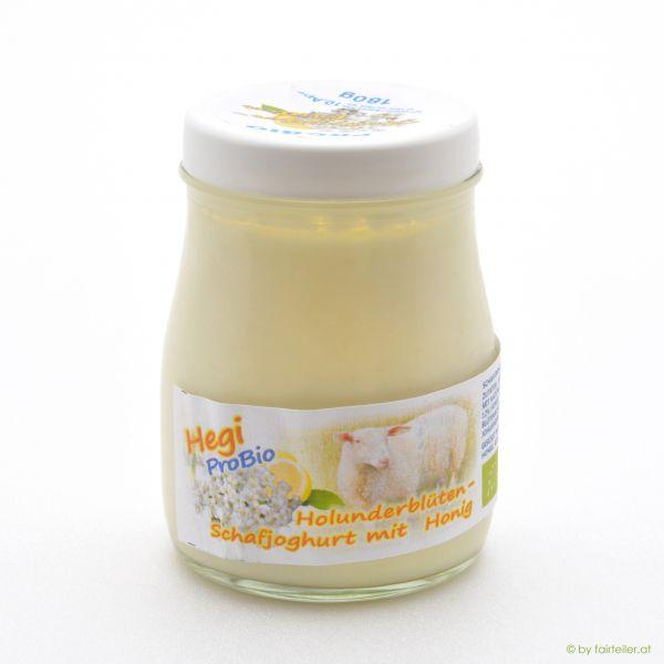 Hegi Schafjoghurt Holunderblüten, probiotisch
