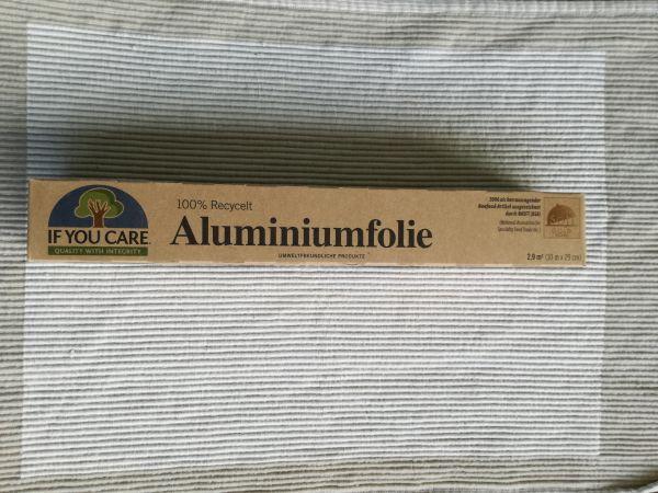 Alufolie 100% Recycelt