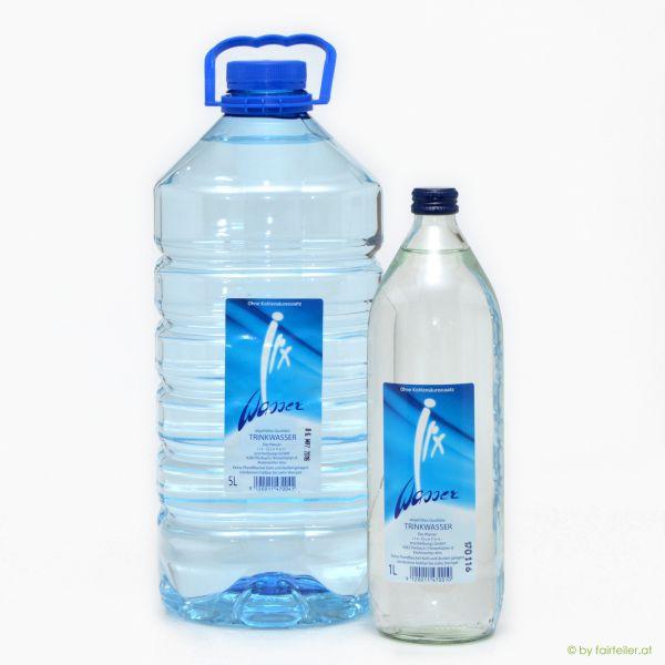 Quellwasser (6 x 1lt Glasflasche)