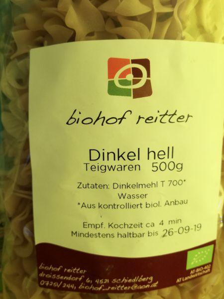 Fleckerl Dinkel hell