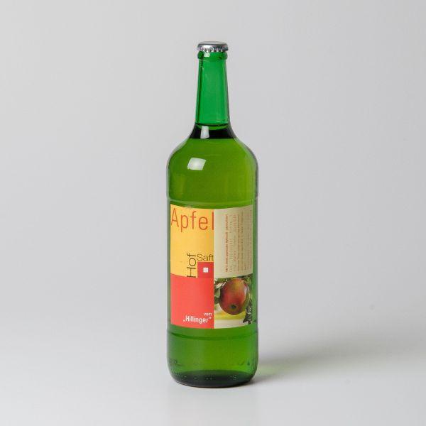 Apfelsaft, süß-säuerlich (silberne Kappe)