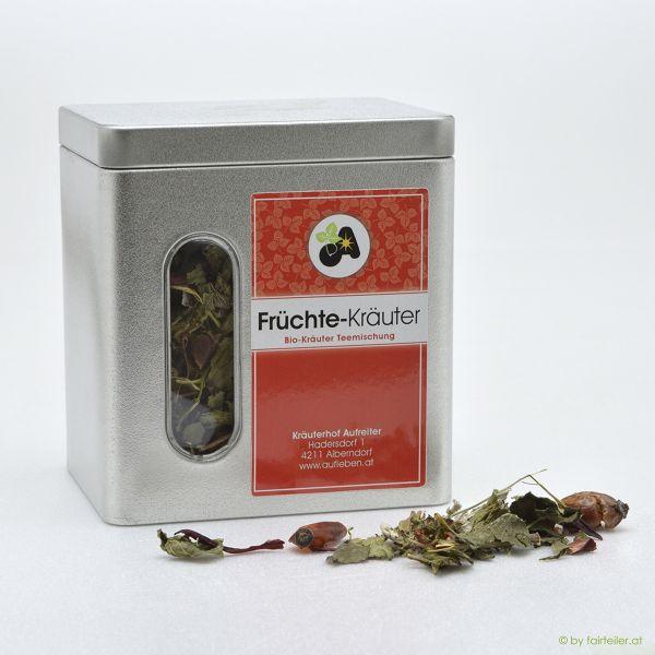 Teedose Früchte-Kräutermischung