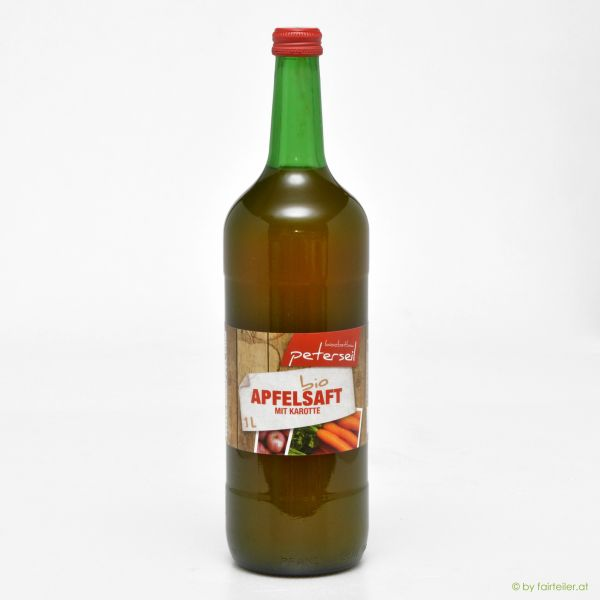 Apfel-Karotte Saft