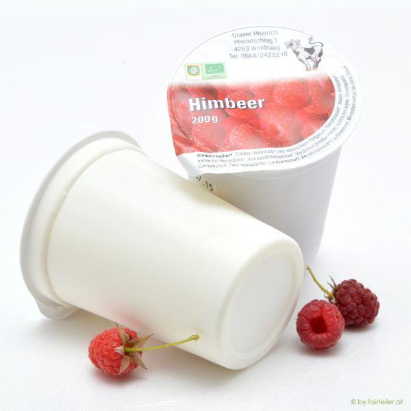 Fruchtjoghurt Himbeer