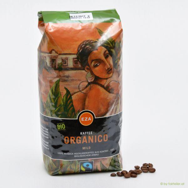 Organico mild ganze Bohne