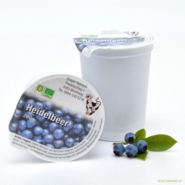 Fruchtjoghurt Heidelbeer