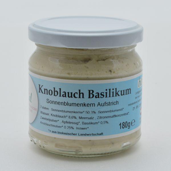 Aufstrich Knoblauch Basilikum