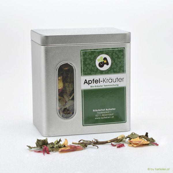 Teedose Apfel-Kräutermischung