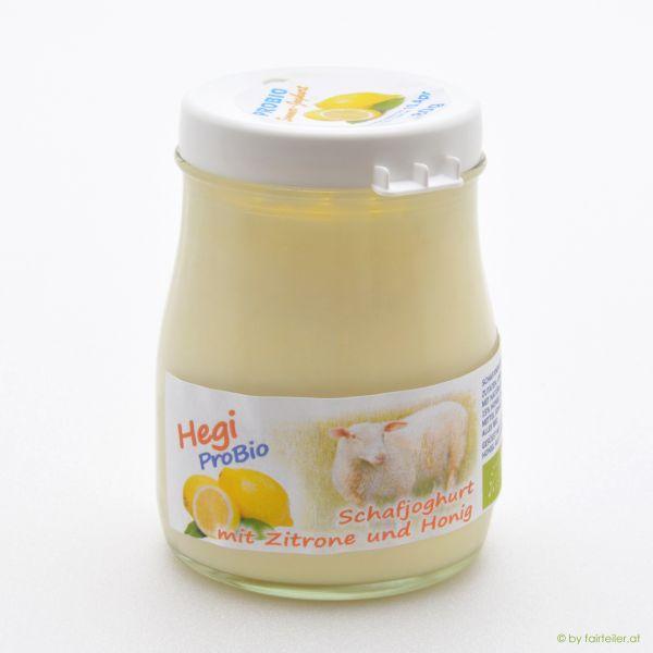 Hegi Schafjoghurt Zitrone, probiotisch