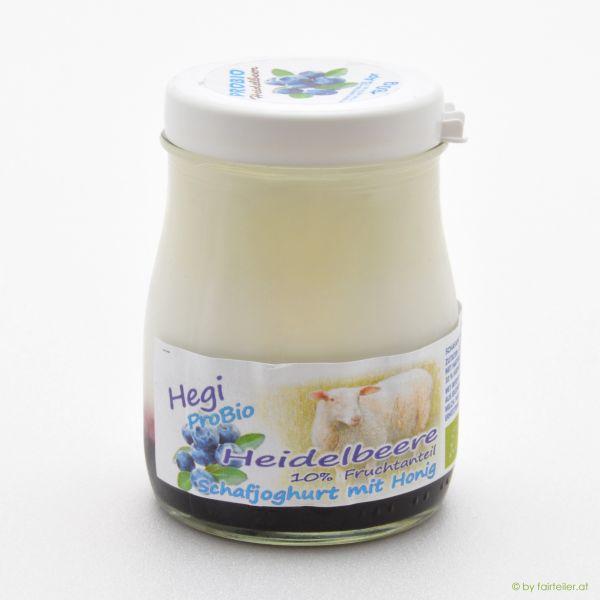 Hegi Schafjoghurt Heidelbeere, probiotisch