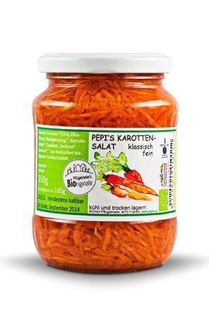 Karottensalat klassisch fein