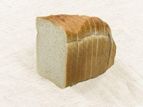Toastbrot Weizen geschnitten