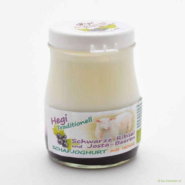 Hegi Schafjoghurt Schwarze Ribisel-Jostabeere