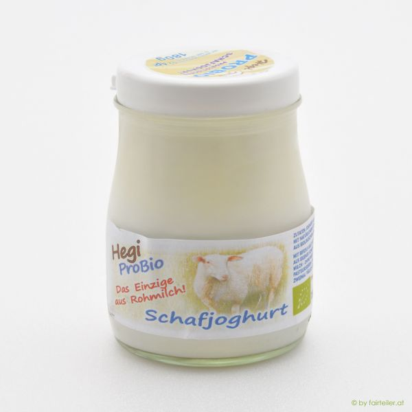 Hegi Schafjoghurt pur, probiotisch