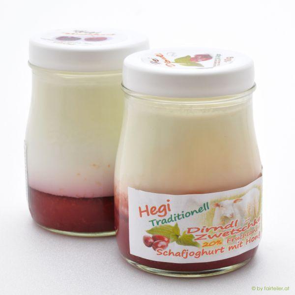 Hegi Schafjoghurt Dirndl - Zwetschke