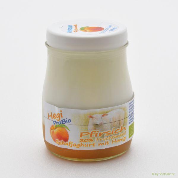 Hegi Schafjoghurt Pfirsich, probiotisch