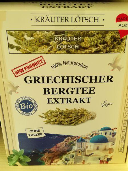 Griechischer Bergtee Extrakt