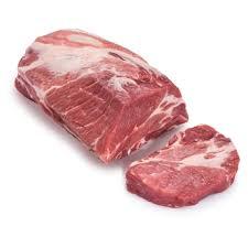 Schopf geschnitten vom Schwein