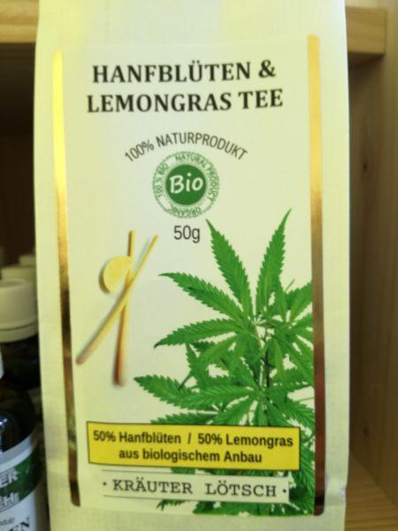 Hanfblüten & Lemongras Tee