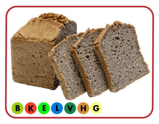 Buchweizen-Keimbrot (glutenfrei)