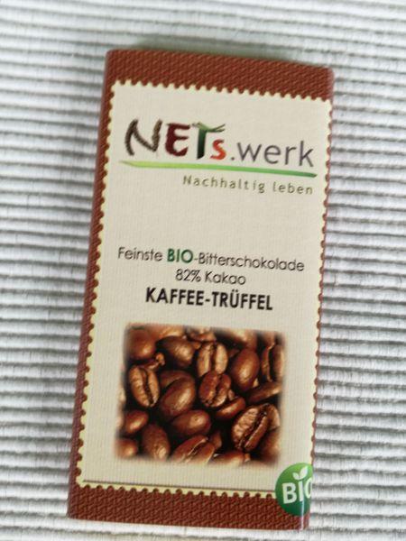 Bitterschokolade Kaffee - Trüffel