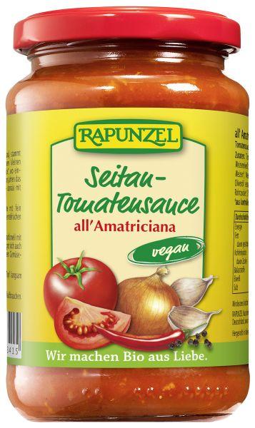 Tomatensauce all' Amatriciana mit Seitan