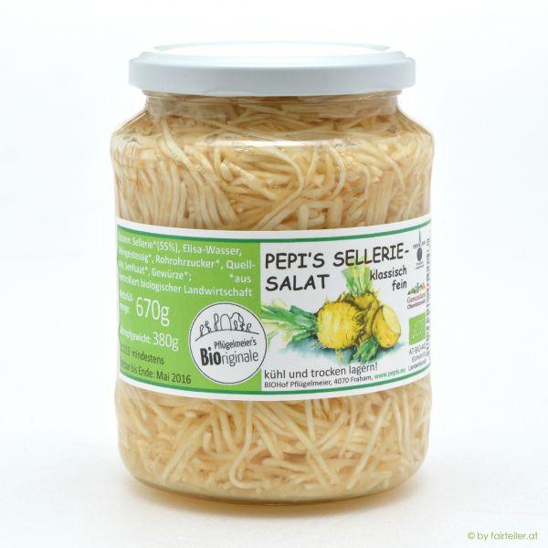 Selleriesalat klassisch fein
