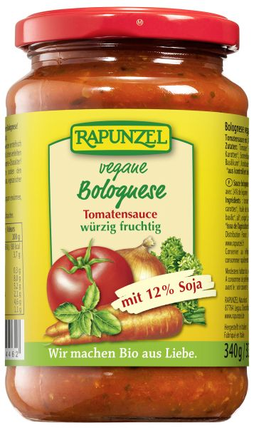 Tomatensauce Bolognese vegetarisch mit Soja