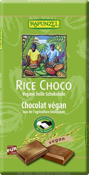 Schokolade vegan hell Rice Choco