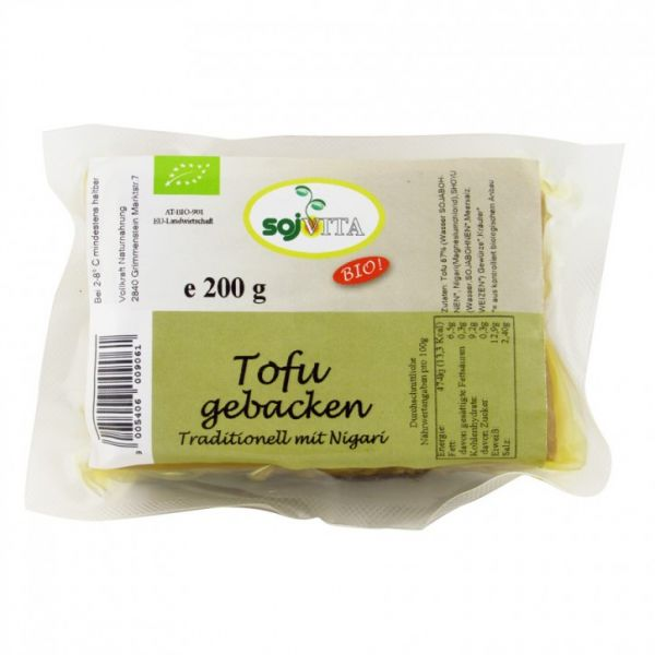 Tofu gebacken