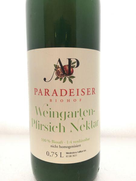 Weingartenpfirsich Nektar
