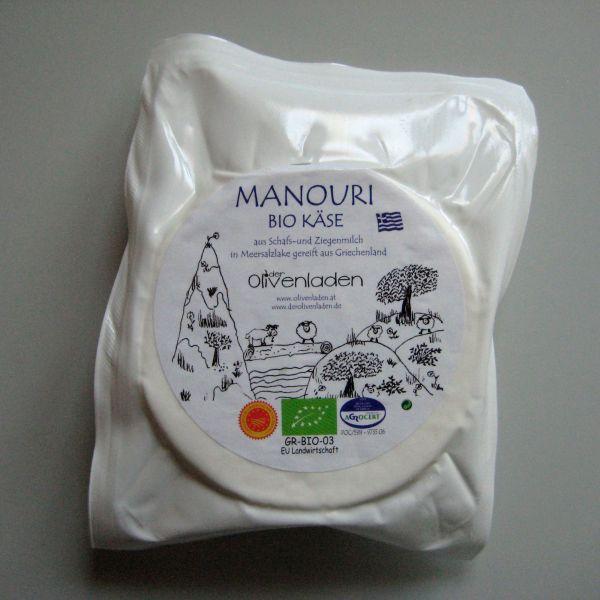 Griechischer Manouri Käse