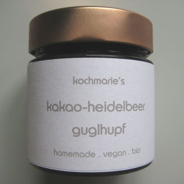 Kakao Heidelbeer Gugelhupf