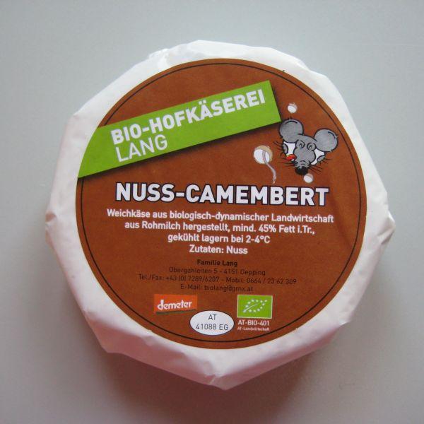 Camembert mit Nuss (Demeter)